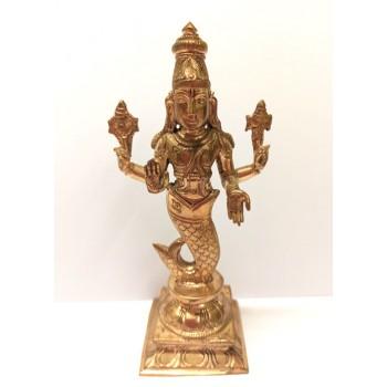 Matsyadeva (Fish-Avatara) - 14 cm
