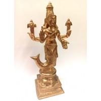 Matsyadeva (Fish-Avatara) - 16 cm