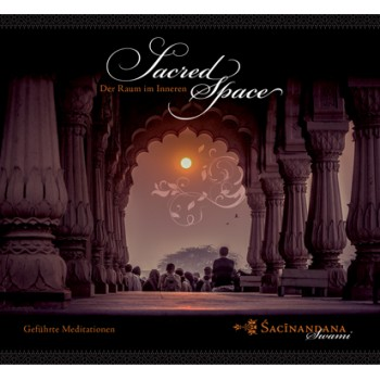 Sacred Space - Guided Meditation (Audio-CD, English); Sacinandana Swami