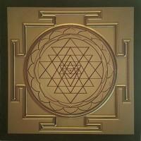 "The Shri Yantra 10,8"" x 10,8"""