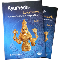 Ayurveda-Textbook (Charaka-Samhita) - 2 Volumes; Srikanta Sena