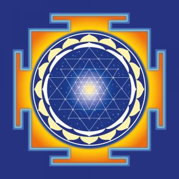 "The Shri Yantra 16,5"" x 16,5"""