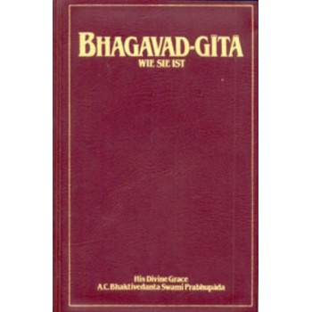 Bhagavad-Gita Wie sie ist (Taschenbuch); A. C. Bhaktivedanta Swami