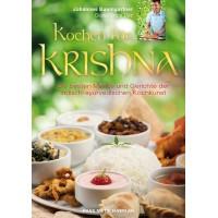 Kochen für Krishna - Buch; Johannes Baumgartner