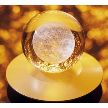 Der Sphärenkristall - Die Blume des ewigen Lebens in 3D - Kugel