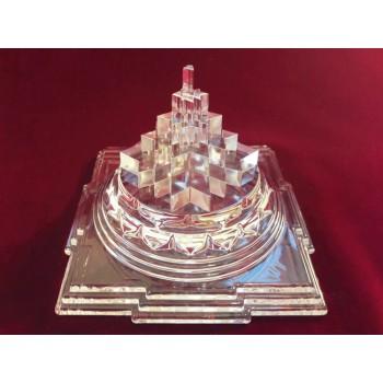 Meru Chakra Glass Crystal